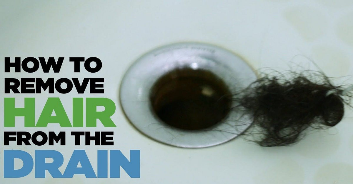 How to Remove Hair from a Clogged Drain